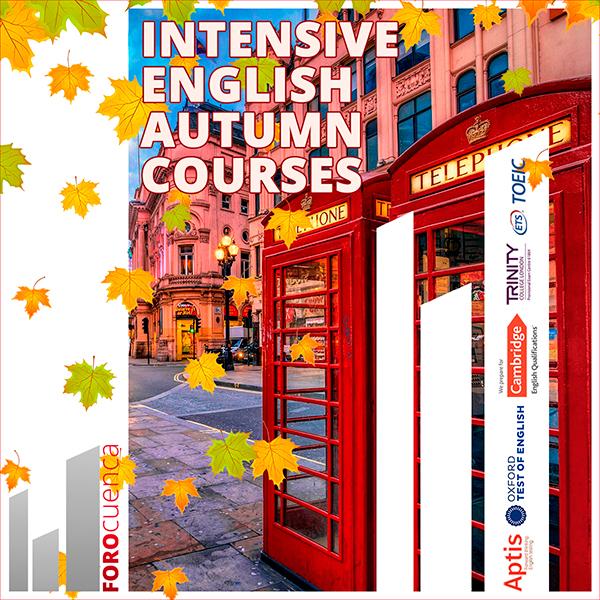 Cursos intensivos de otoño