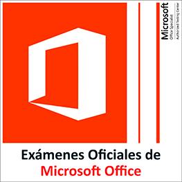 Exámenes oficiales de Office